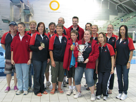 Vikings Team Win Div 2 Trophy at NSW LC State Championships 2011